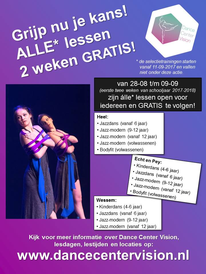 Flyer open lessen 2017-2018